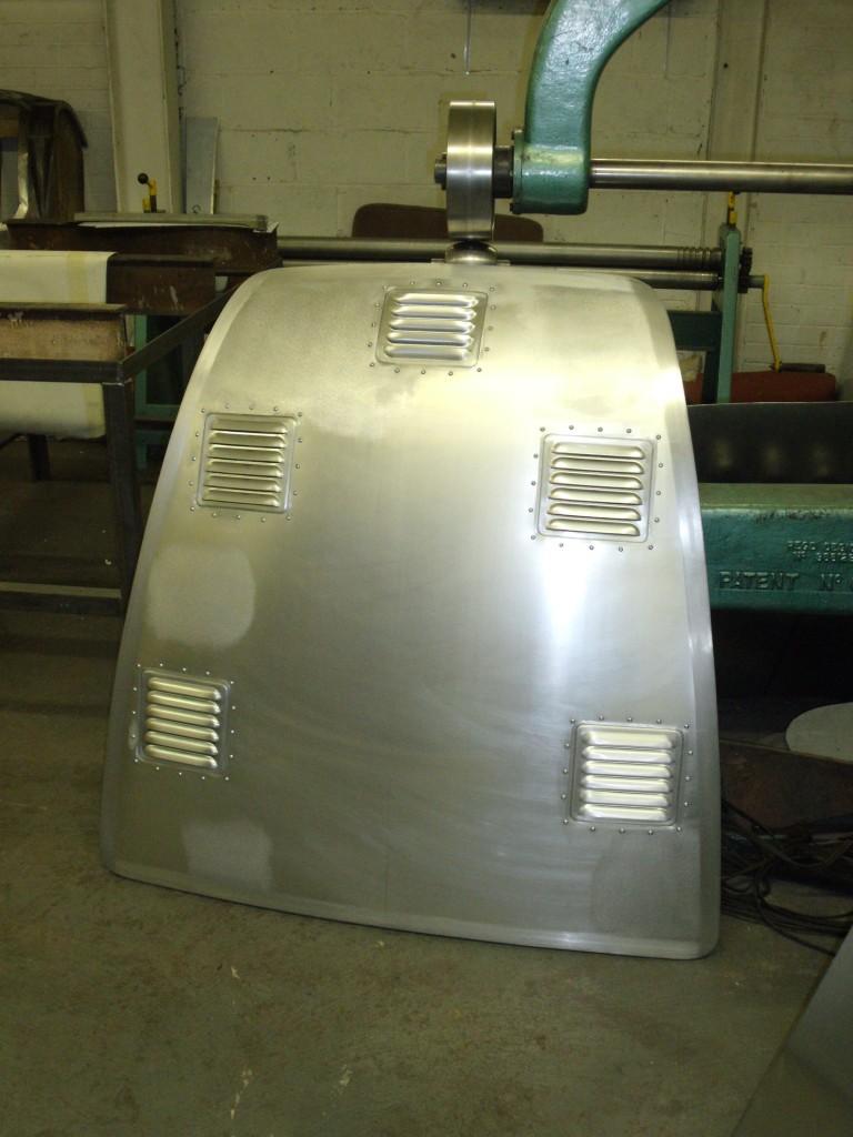 Sunbeam Tiger light weight bonnet